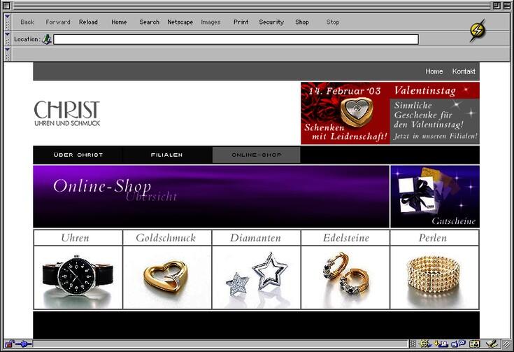 1f891c43c53253 Online-Shop - Website und Online-Shop für schöne Dinge
